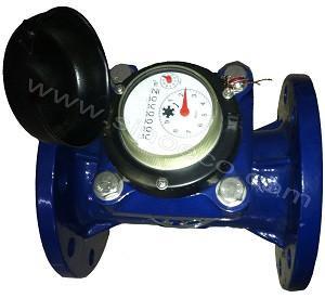 WI secs de mètre d'eau d'impulsion de cadran de roue horizontale de palette d'irrigation d'agriculture