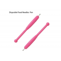 Buy cheap Embroidery Metal Manual Eyebrow Tattoo Pen , Pink Permanent Makeup Tattoo Pen product