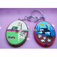 Buy cheap Creative promotional keychains with night light for hotel school hospital from wholesalers
