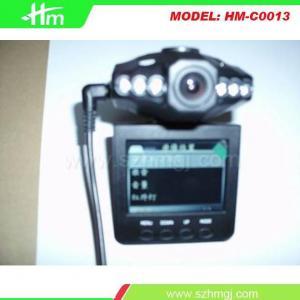 Caja negra del coche rotativo de la pantalla de HD con 6 lámparas @120lens del IR