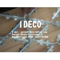 Buy cheap Stainless Steel Expanded Metal Razor Mesh Panels, Welded Razor Wire Mesh, Razor Strips Fences product