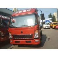 Buy cheap SINOTRUK HOWO Mini cargo truck/light duty trucks in red or white color from wholesalers