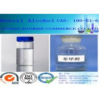 Buy cheap Clear Colourless Benzyl Alcohol Liquid Animal Feed Additives C7H8O CAS 100-51-6 product