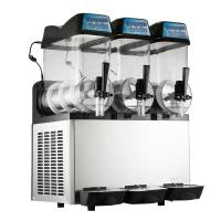 China Triple Bowls Frozen Slush Machine 304 Stainless Steel With r134a Refrigerant on sale
