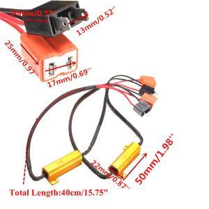 Buy cheap H7 50W LED Headlight Decoder , 2PCS H7 LED Canbus Decoder product