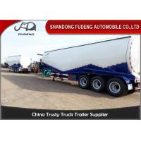 Buy cheap CE certification W shape bulk cement semi trailer , BPW axles pulverized fly ash coal ash powder tank product