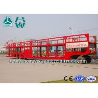 Buy cheap Customized Carbon Steel Car Carrier Semi Trailer To Carry Car 2 Axels product