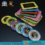 Buy cheap Casino Acrylic Poker Chips Gambling Club Chip Silk Screen Chip Can Custom Manufacturer Spot product