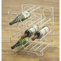 Buy cheap Hot acrylic wine stopper holder stand and liquor bottle rack display for wine and drink product