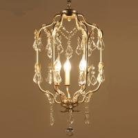 China Chandeliers for Dining room Bedroom Kitchen home Lights 3 Lights lustres para sala de jantar modern crystal chandelier wholesale