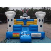 China Toddler kids indoor small rabbit bouncy castle meeting with EN14960 certificate on sale