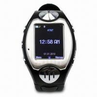 Buy cheap White Watch Phone with Fashionable Style, MP3, MP4, Camera and Bluetooth product