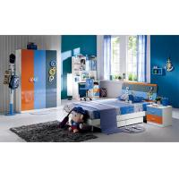 Buy cheap Modern High Gloss Painting Kids Bedroom Sets / Childrens Bedroom Furniture product