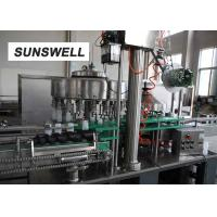 Buy cheap Pe Bottle With Aluminum Bottle Filling And Sealing Machine from wholesalers
