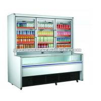 R134a Combination Freezer Cabinet Double Engines For Shop