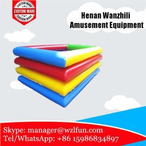 fabricantes infláveis do flutuador da associação/piscina inflável para crianças/piscina quadrada inflável