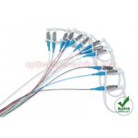 Buy cheap 12 Colors DIN Single Mode Fiber Optic Cable / Pigtail For Data Centers product