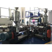 Buy cheap Extrusion Plastic Moulding Machine High Speed Stable Running Double Screw product
