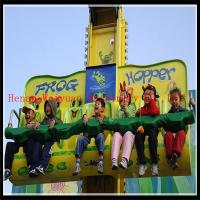 Buy cheap export thrill rides sky drop frog jumping amusement rides manufacturer product