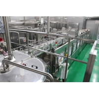 Buy cheap Three Rinsing Filling Capping 5 in 1 Monoblock Machine product