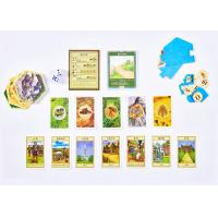 Buy cheap Tiles Paper Card Board Games Multi Players Varnish Lamination Finishing Colorful Printed product
