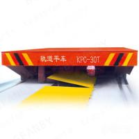 Buy cheap High Frequency Production Line Trailer On Rails With Proximity Switch product