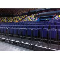 Multi - Purpose Retractable Grandstands Venue Use Seating With Armrests