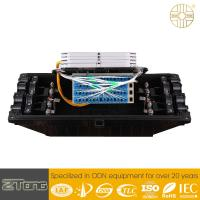Heat Shrinkable Outdoor Fiber Enclosure 8 Ports Horizontal Type PC Material for sale