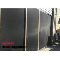 Buy cheap Black Stainless Steel Fly Screen Mesh Powder Coated T 316 0.9 Mm X 10 Mesh from wholesalers