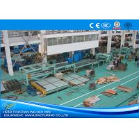 Buy cheap Full Automatic Cut To Length Line Heavy Duty Customized Design Centerline Control product
