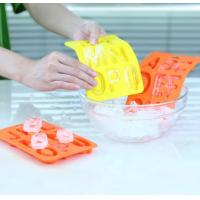 Quality 26 Letters Design Rubber Ice Cube Tray , Flexible Ice Cube Trays Healthy for sale