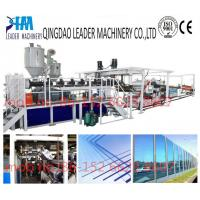 China with UV coating polycarbonate pc solid/embossed acrylic sheet equipment on sale