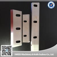 Compact Zerma Blades Plastic Crusher Spare Parts With Precise Heat Treatment