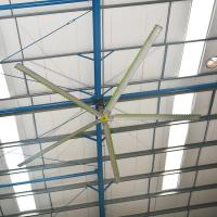 China Quiet Efficient Operation High Volume Low Speed Fans Industrial Ceiling Fan on sale