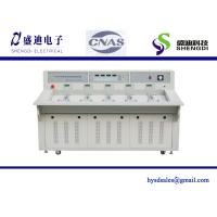 Buy cheap 5 Position Single Phase Prepaid Energy Meter Test Bench,accuracy 0.05% class,Output Current 1mA~120A from wholesalers