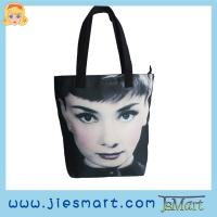 Buy cheap JSMART photo bag Canvas Straight handbag sublimation printing photo bag from wholesalers