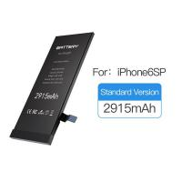 Buy cheap Zero Cycle Iphone 6s Plus Battery Lithium Polymer Cell Type With 1 Year Warranty product