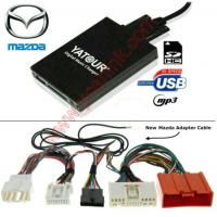 Buy cheap Digital MP3 USB SD interface adapter changer for New Mazda 3/5/6 2009+ product