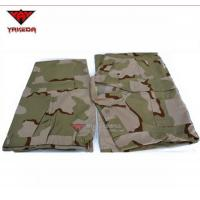 China Custom Camouflage Military Uniforms Waterproof Rip - Stop For Workwear on sale
