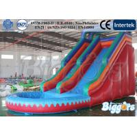 Buy cheap Commercial Simple Kids Inflatable Slide for Pool / Climbing Games ,UL CE Approved product