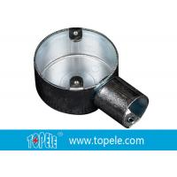 Buy cheap TOPELE 25mm / 32mm BS Electrical Conduit Circular Junction Box For Conduit from wholesalers