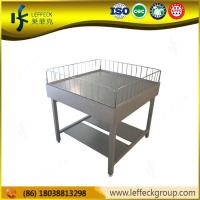 China Leffeck high quality heavy duty four wheel metal garden cart HJ-D18 on sale