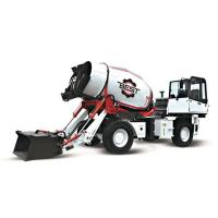 Buy cheap 4 CBM High Efficient Mobile Concrete Mixer Truck With One Year Warranty product