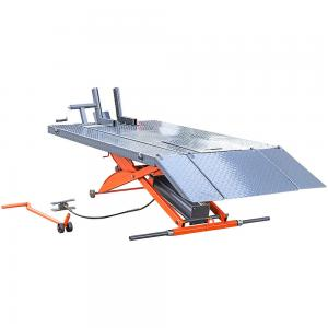 Buy cheap Scissor Pneumatic 1000lbs CE Motorcycle Lift Bench product