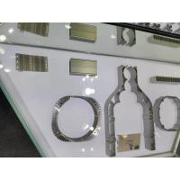 Buy cheap Zinc Plating CNC Aluminum Parts Steel Laser Cutting Air - Vent Front Plate product