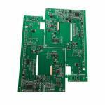 Buy cheap HDI Bluetooth control pcb assembly Green Soldmask White Silkscreen product