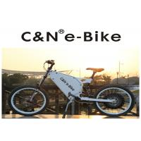 China Lithium Battery Electric Motor Mountain Bike , High Speed Cruise Distance E Bike wholesale