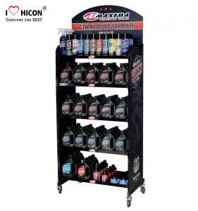 Buy cheap Drive Sales Metal Display Racks Custom Lubricant Motor Engine Oil Display Rack from wholesalers