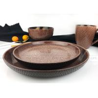 Buy cheap AB Grade Modern Dinnerware Sets 420cc Capacity Ceramic Stoneware Material product