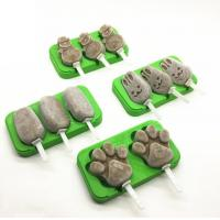 Buy cheap DIY Silicone Ice Cube Molds Snow Man Shape Small Size Cute Non Pollution product